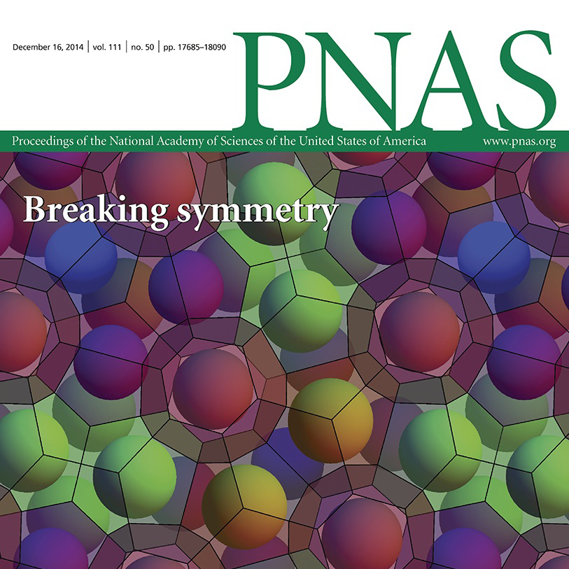 PNAS journal cover