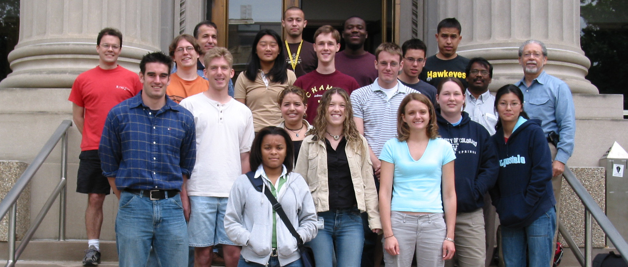 2004 Research Experience for Undergraduates Participants