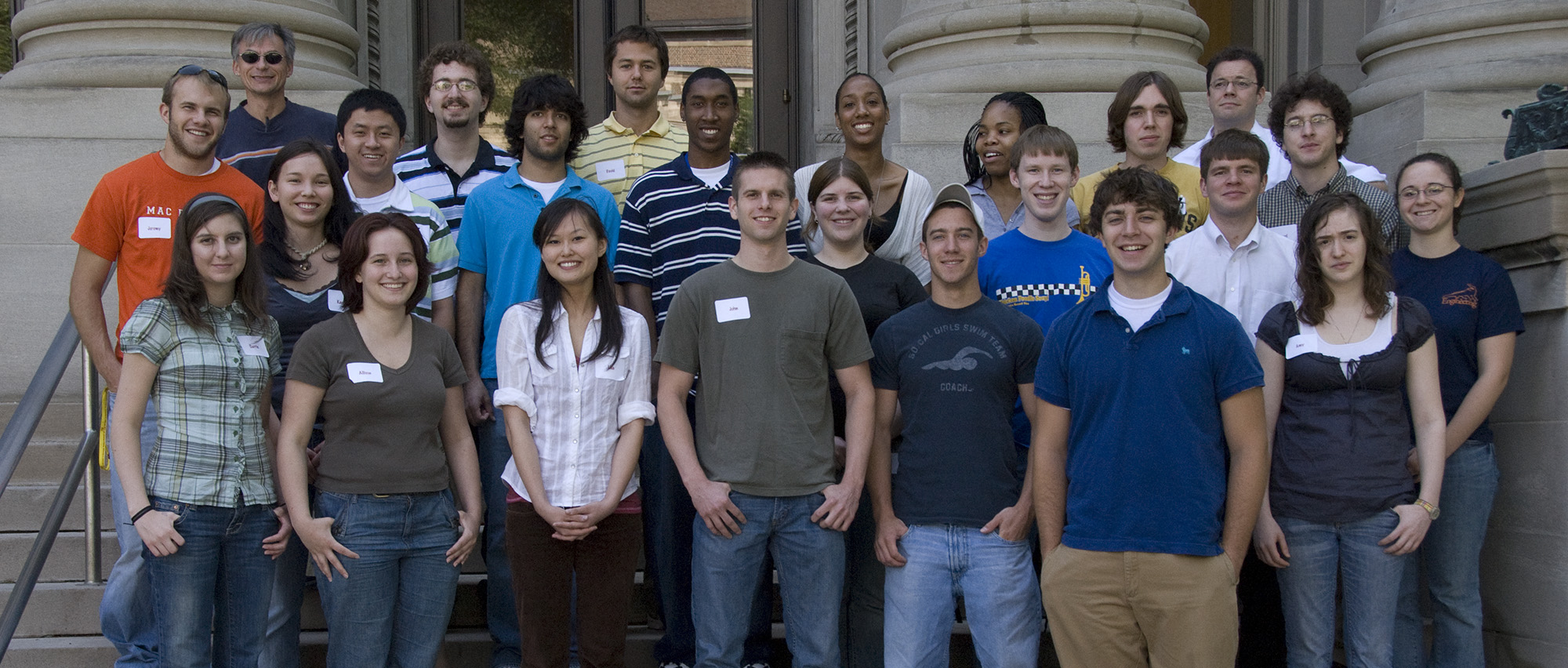 2007 Research Experience for Undergraduates Participants