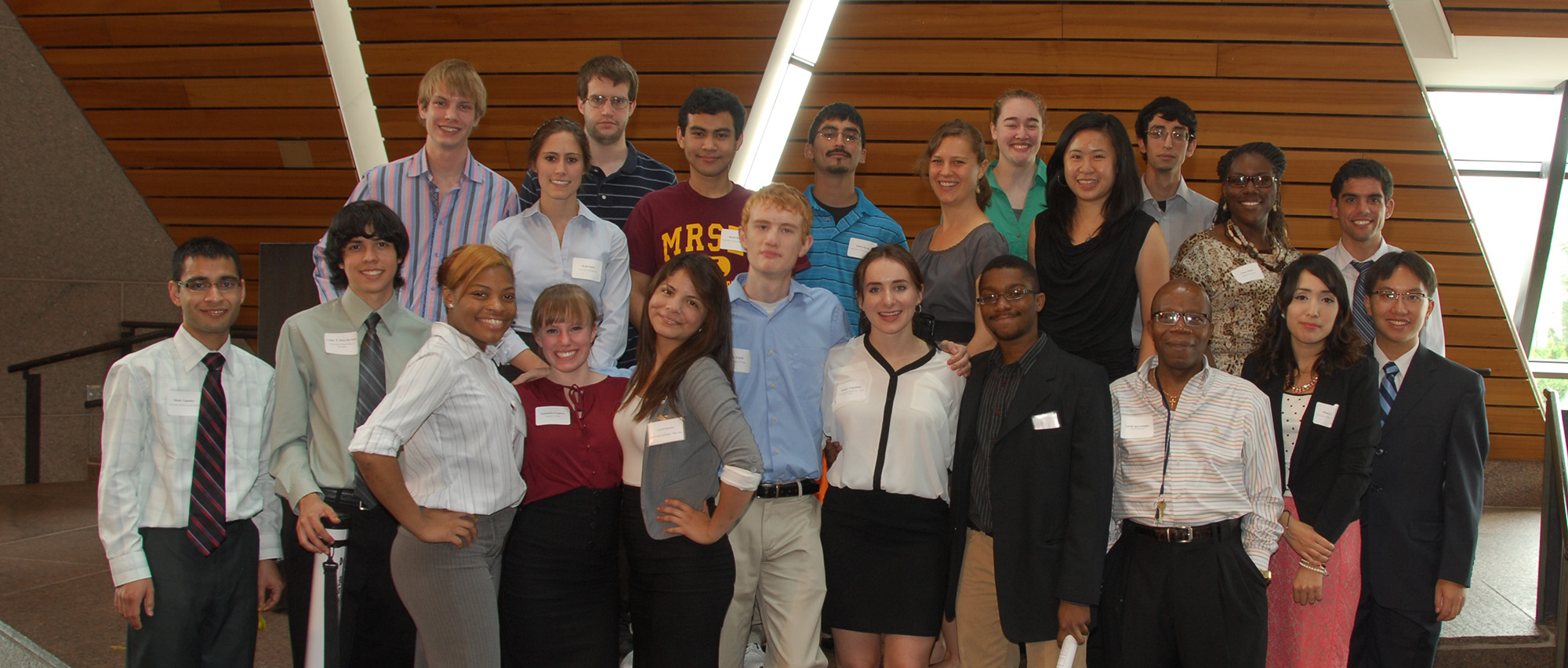 2013 Research Experience for Undergraduates Participants