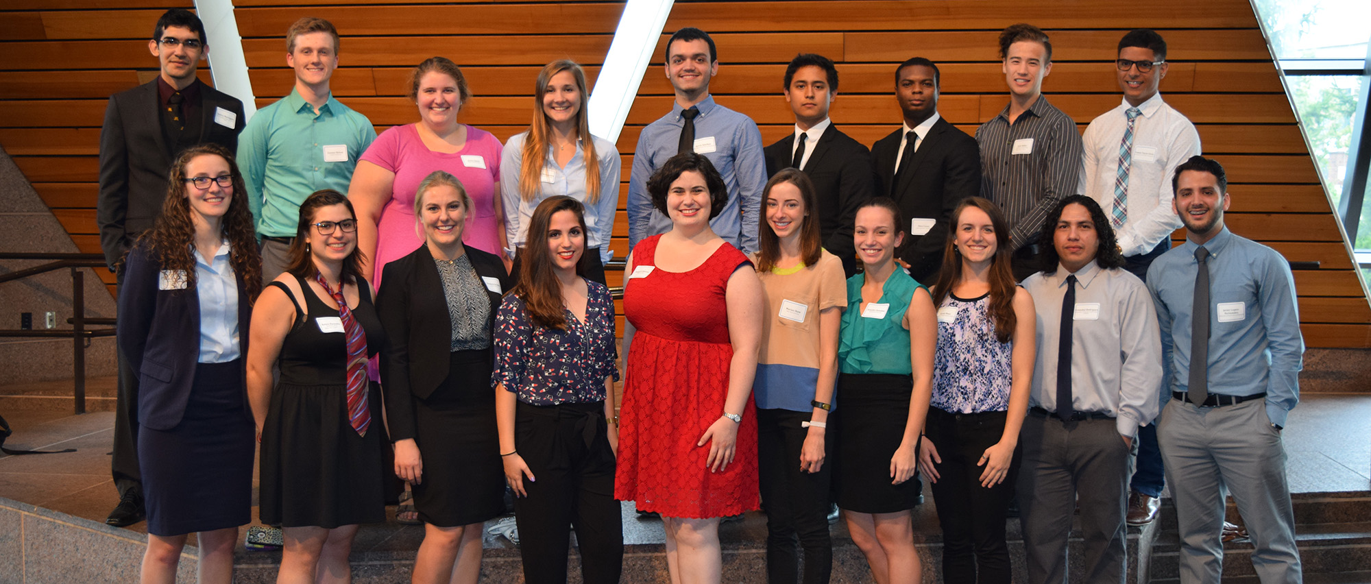 2016 Research Experience for Undergraduates Participants